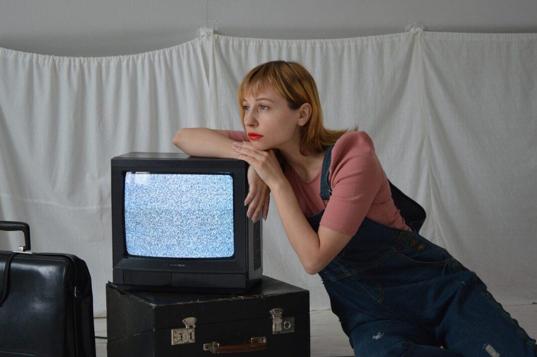 kobieta z tv